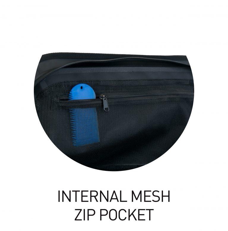 Prodry-Zip Waterproof Duffel Bag 50L