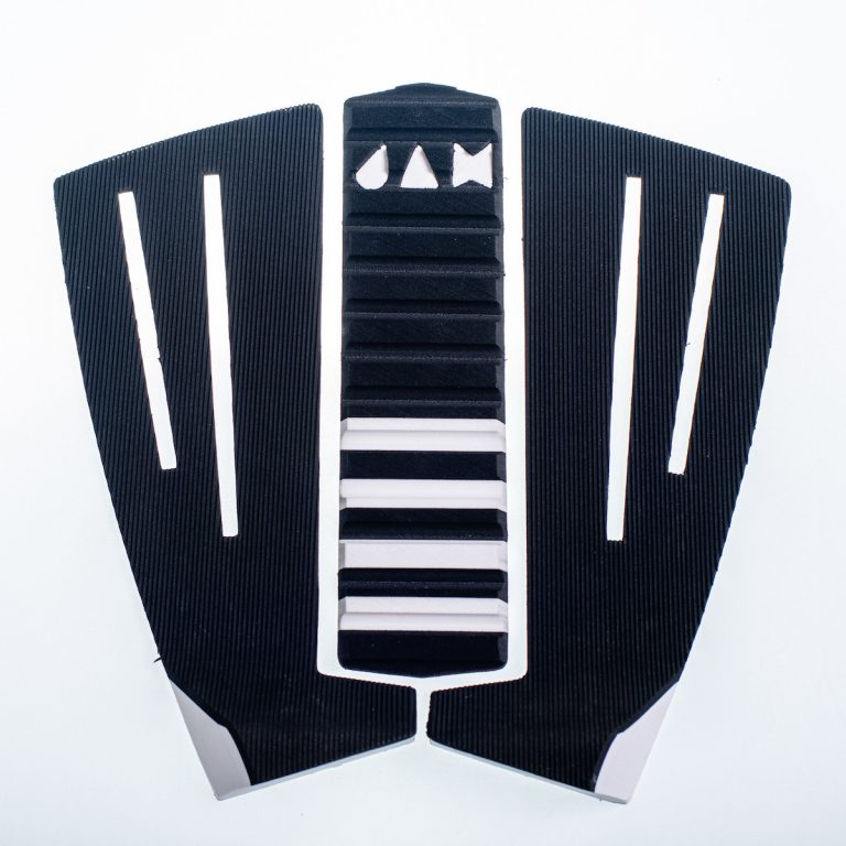 3 PIECE TRACTION PAD BLACK/WHITE