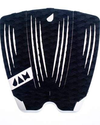 3 PIECE TRACTION PAD BLACK/WHITE STRIPES