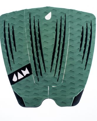 3 PIECE TRACTION PAD ARMY GREEN/BLACK STRIPES