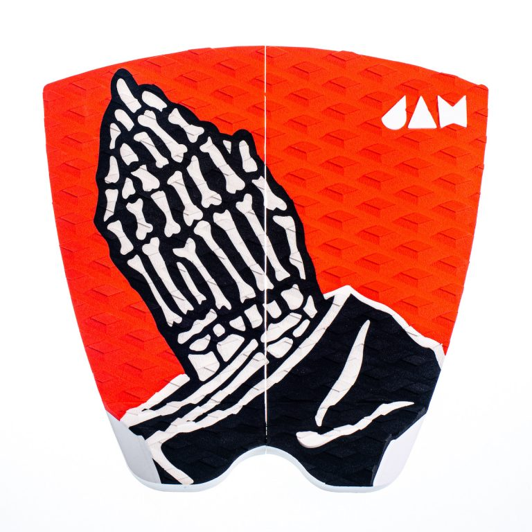 2 PIECE TRACTION PAD RED/HANDS