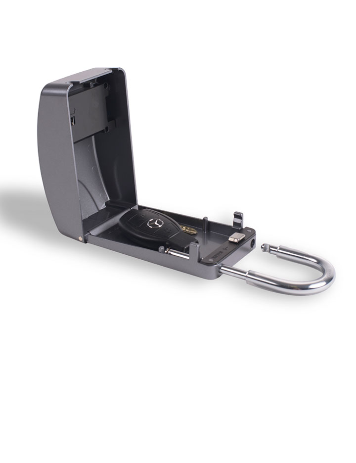 Key Lock Maxi Silver