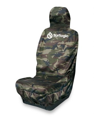 Waterproof Car Seat Cover Single Camo