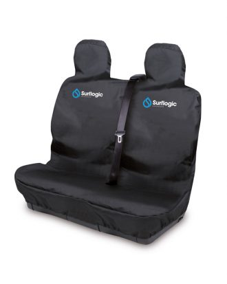 Waterproof Car Seat Cover Double Black