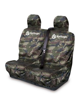 Waterproof Car Seat Cover Double Camo