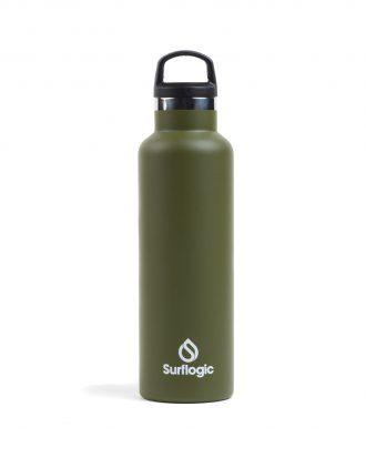 BOTELLA TERMICA SURFLOGIC GREEN 600ML